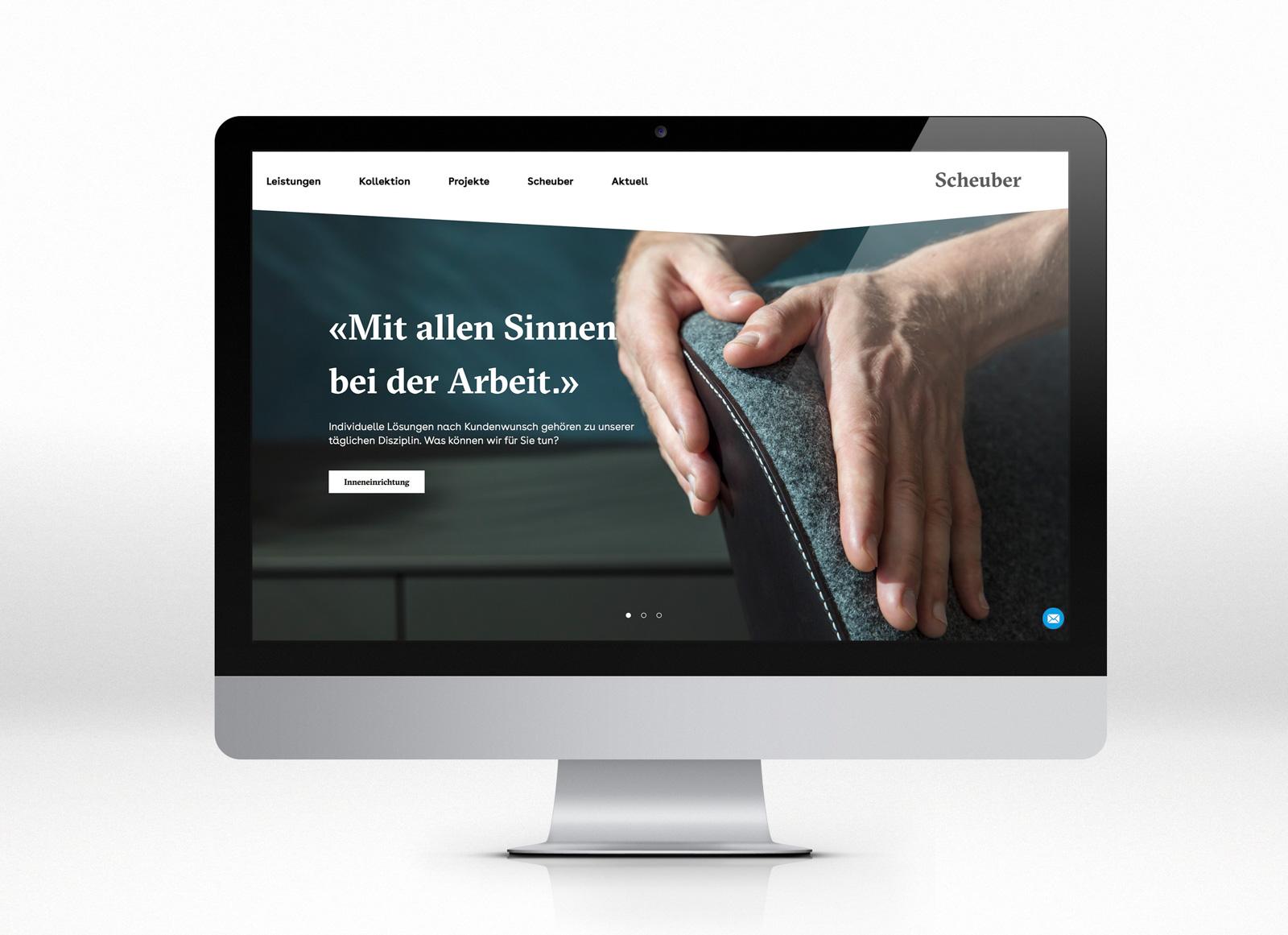 Scheuber AG – Keyvisuals